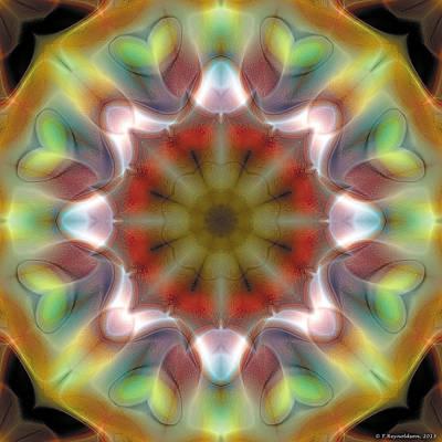 Mandala 97 Art Print by Terry Reynoldson