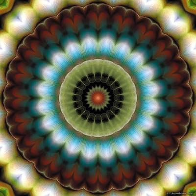 Geometric Art Digital Art - Mandala 99 by Terry Reynoldson