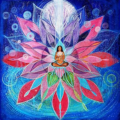 Mandala For Inner Child Art Print