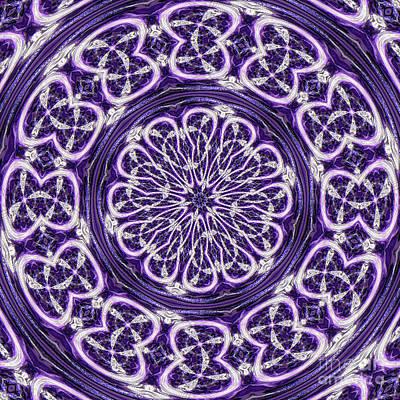 Art Print featuring the photograph Mandala by Linda Weinstock