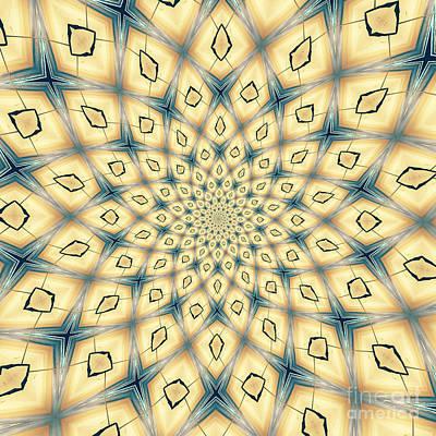 Mandala Photograph - Mandala 1 by Neil Overy