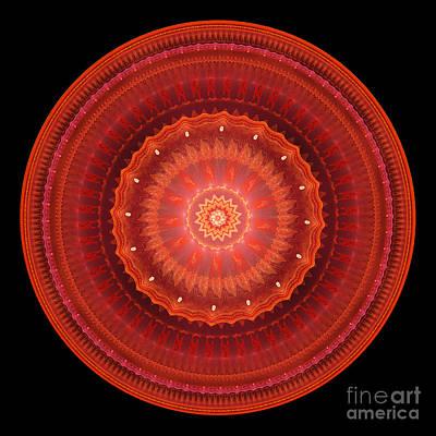 Digital Art - Mandala Of Love Ll by Martin Capek