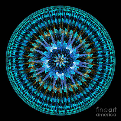 Mandala Of Peace Art Print
