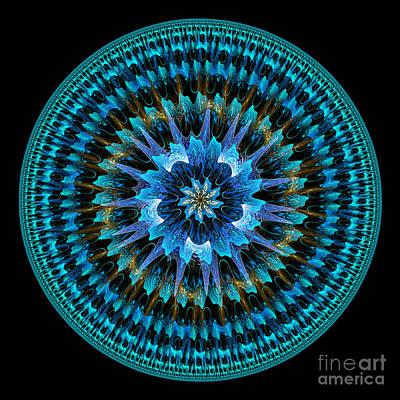 Digital Art - Mandala Of Peace by Martin Capek