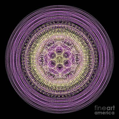 Digital Art - Mandala Of Wisdom by Martin Capek