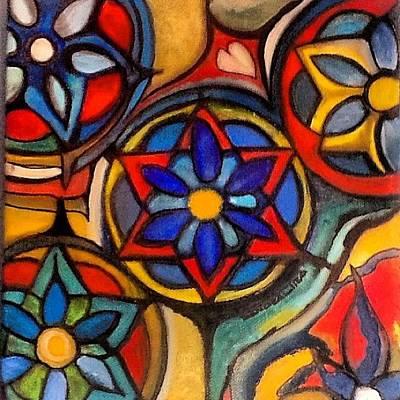 Painting - Mandalas Vintage by Sandra Lira