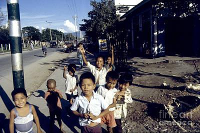 Photograph - Mandalay Children by Scott Shaw