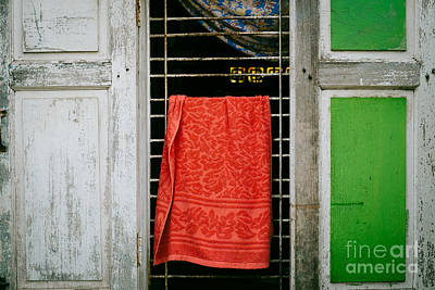 Photograph - Mandalay Window Scene by Dean Harte