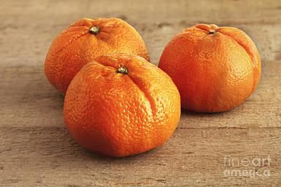 Orange Photograph - Mandarin Oranges by Colin and Linda McKie