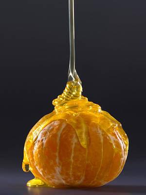 Mandarin With Honey Art Print