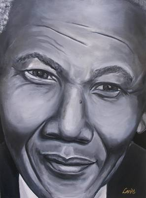 Painting - Mandela by Joseph Love
