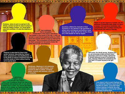 Photograph - Mandela's Rainbow by Terry Wallace