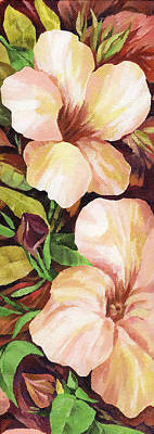 Florida Flowers Painting - Mandevilla by Natasha Denger