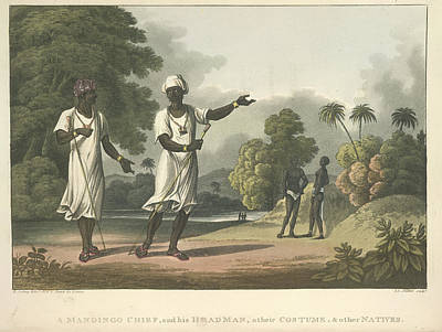 Slaves Photograph - Mandingo Chief by British Library