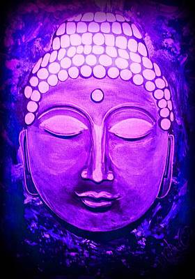 Painting - Mandi's Buddha by Michelle Dallocchio