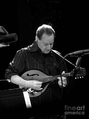 Photograph - Mandolin In Bw by Chris Anderson