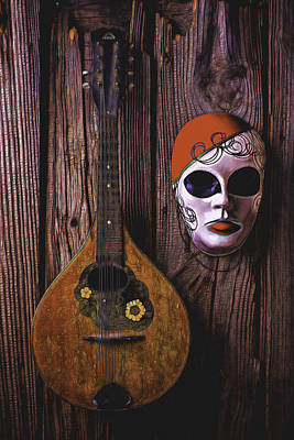 Treasure Box Photograph - Mandolin Still Life by Garry Gay
