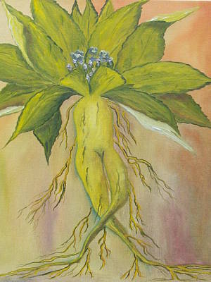 Painting - Mandrake by Conor Murphy