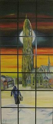 Mechelen Painting - Maneblusser by Dirk Ghys