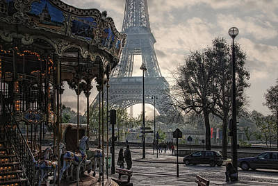 Manege Parisienne Art Print by Joachim G Pinkawa