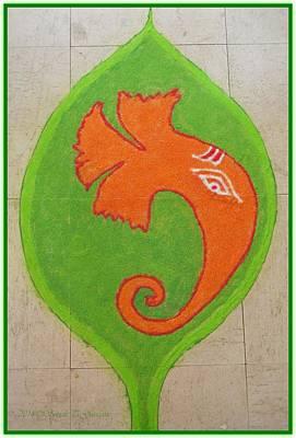 Mangalmurti Moraya Art Print
