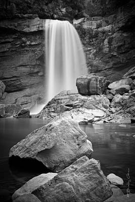 Photograph - Mangatini Falls by Brad Grove