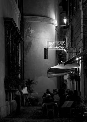 Photograph - Mangia - Rome Italy by Carl Amoth