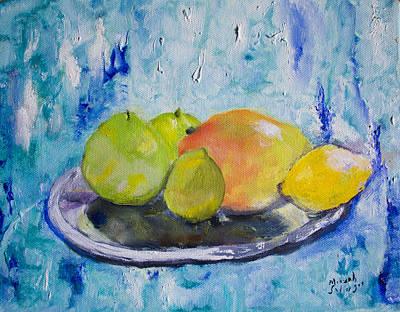 Mango Art Print by Aleezah Selinger