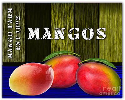 Mango Mixed Media - Mango Farm by Marvin Blaine