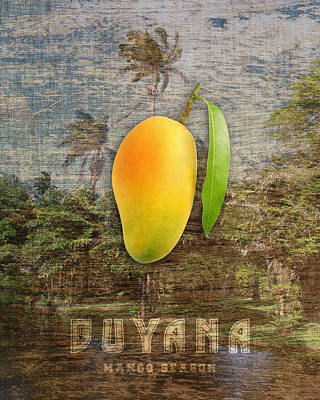 Mango Digital Art - Mango Season by Mark Khan