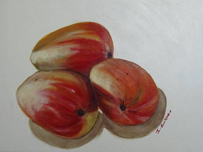 Painting - Mangoes by Isabel Honkonen