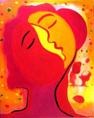 Painting - Mangos by Jose jackson Guadamuz guadamuz