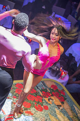 Photograph - Mango's Salsa Dancer by John McGraw