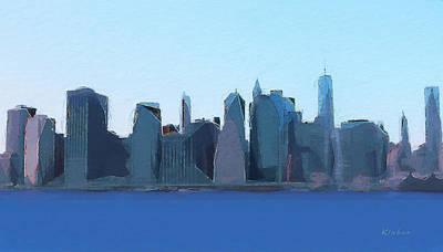 Manhattan 2014 Art Print