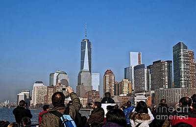 Photograph - Manhattan A Tourists View 2 by Steve Purnell