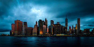 Photograph - Manhattan At Dawn by Chris Lord