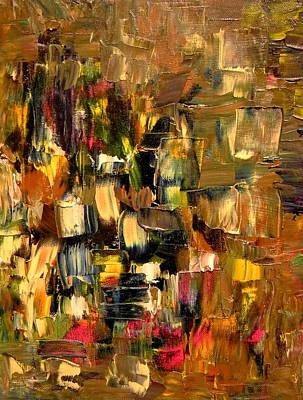 Painting - Manhattan At Dawn by Sue McElligott