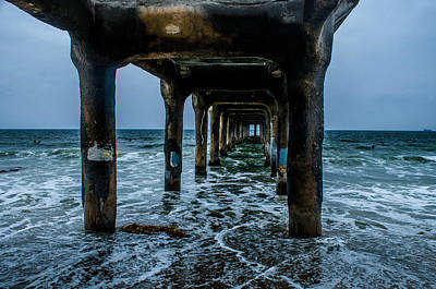 Photograph - Manhattan Beach Peir by Joe Scott