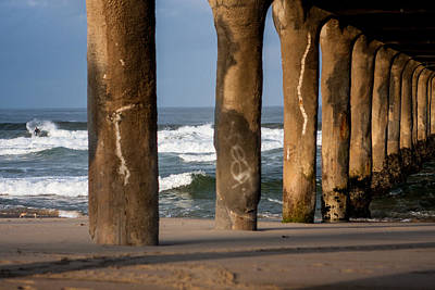 Manhattan Photograph - Manhattan Beach Pier Sunrise Series by Josh Whalen