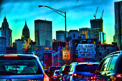 Digital Art - Manhattan Bound by Terry Cork