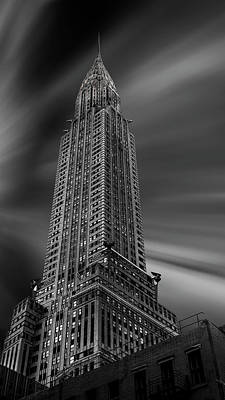 Chrysler Building Photograph - Manhattan (chrysler) by Martin Zalba