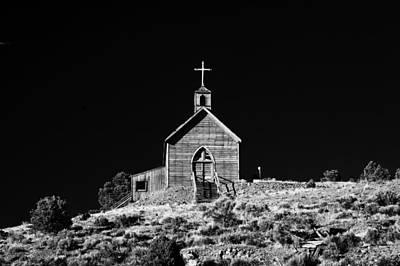 Photograph - Manhattan Church by Cat Connor