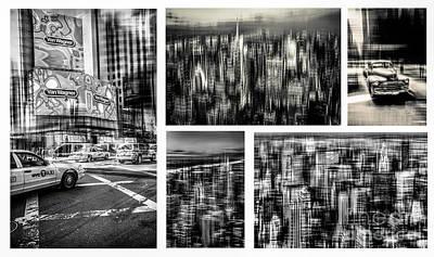 Manhattan Collection I Art Print by Hannes Cmarits