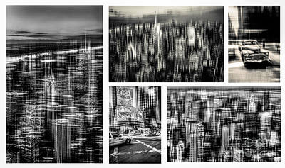 Manhattan Collection II Print by Hannes Cmarits