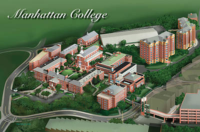 Graduation Gift Drawing - Manhattan College by Rhett and Sherry  Erb