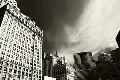 Photograph - Manhattan Contrast by Dan Sproul