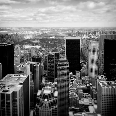 Photograph - Manhattan by Dave Bowman