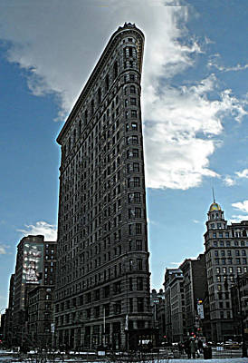 Photograph - Manhattan Flatiron by Deborah Smith