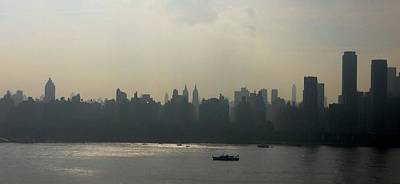 Horizontal Photograph - Manhattan From New Jersey Photo by Mario Perez