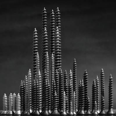 Nails Photograph - Manhattan by Giorgio Toniolo